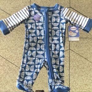 Bobby Sleep 'N' play footie( baby boy) Size:NB